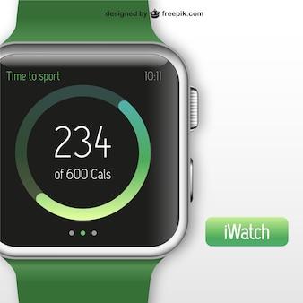 Iwatch illustratie