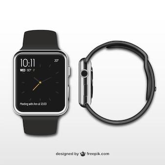 Iwatch voor-en zijkant