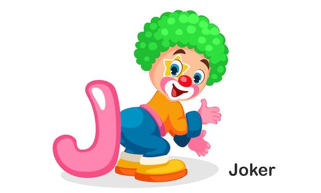 J voor joker