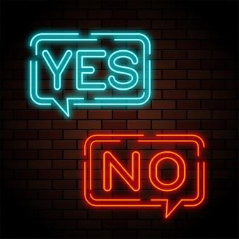 Ja en geen neonreclames