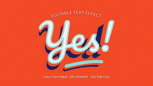 Ja teksteffect met puntpatroon en textuur