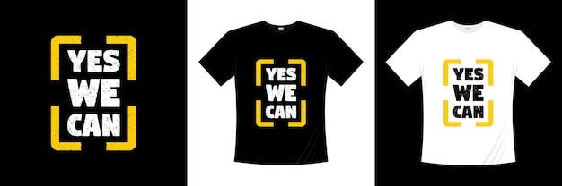 Ja we kunnen typografie t-shirt ontwerpen