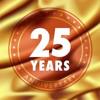 Jaar jubileum voor 25-jarig jubileum