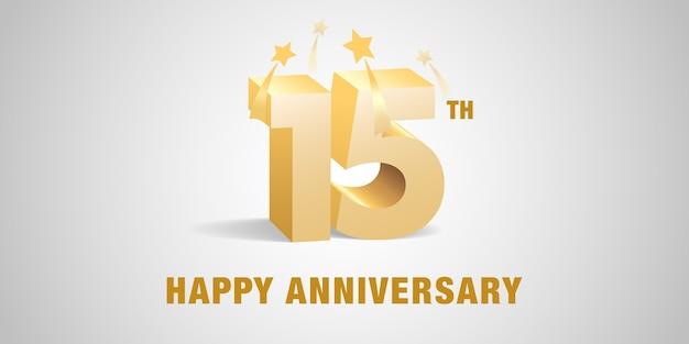Jaar verjaardag logo pictogram