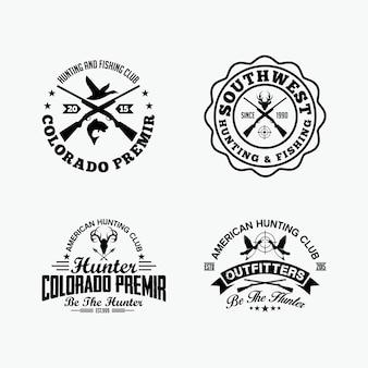 Jachtbadges en logo's