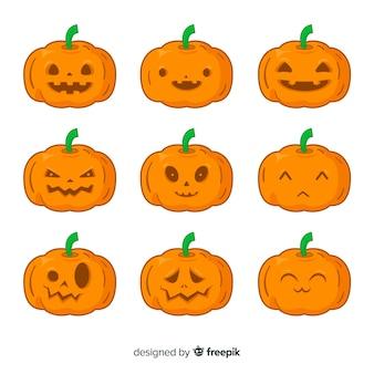 Jack o lantaarn halloween-pompoen