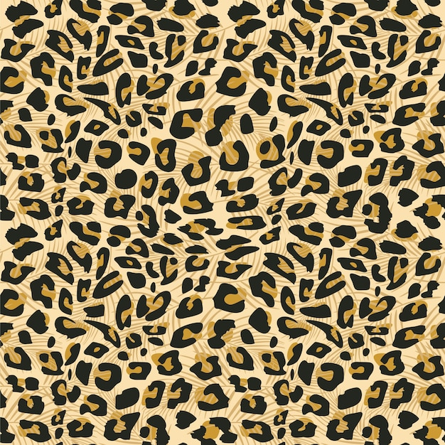 Jaguar huid naadloos patroon