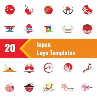 Japan logo sjablonen