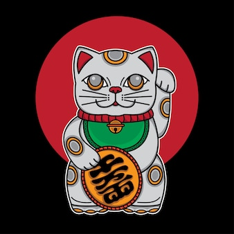 Japan lucky cat maneki neko