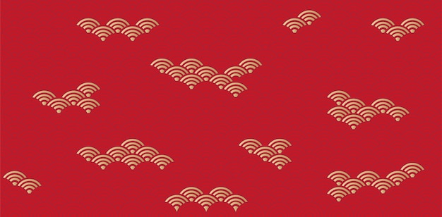 Japan patroon en achtergrond. vector ontwerp