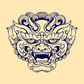 Japans fopspeenmasker