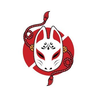 Japans kitsune-masker