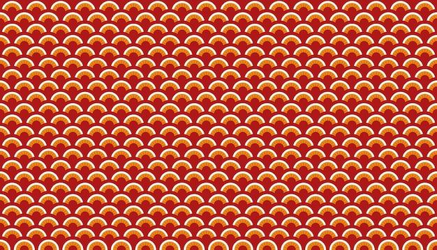 Japans patroon. vector illustratie