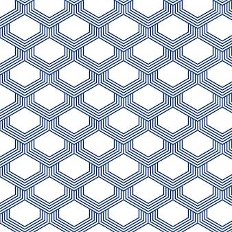 Japans stijlpatroon dat op witte achtergrond wordt geïsoleerd