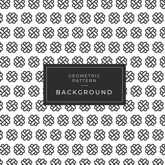 Japans traditioneel geometrisch naadloos zwart-wit zwart patroon