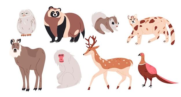 Japanse dieren set