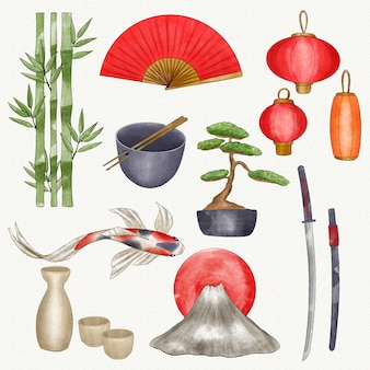 Japanse elementeninzameling