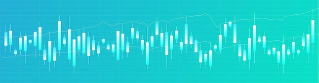 Japanse kandelaargrafiek. online ruilen. financiële markt