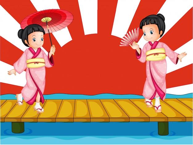 Japanse meisjes