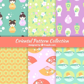 Japanse patronen collectie