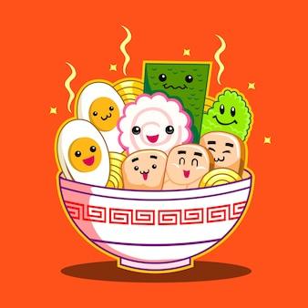 Japanse ramen noodle