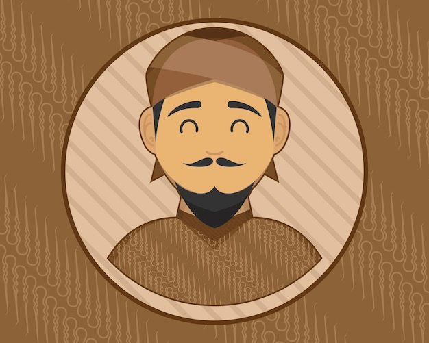 Java speciaal teken voor javaanse logo-identiteit