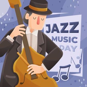 Jazz de soulmuziek en muzikant