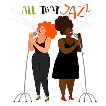 Jazz zangeressen