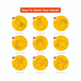 Je handen wassen
