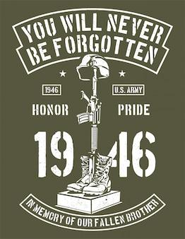 Je zal nooit vergeten worden