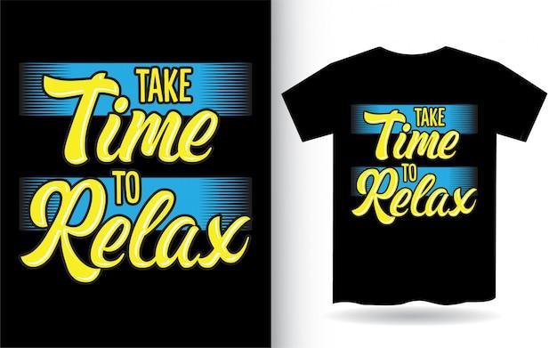 Je zult er nooit spijt van hebben dat je een dapper belettering ontwerp voor een t-shirt bent