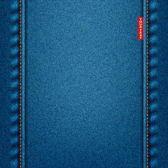 Jeans textuur blauwe kleur. denim