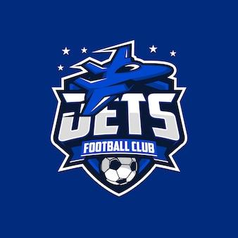 Jet voetbalclub logo