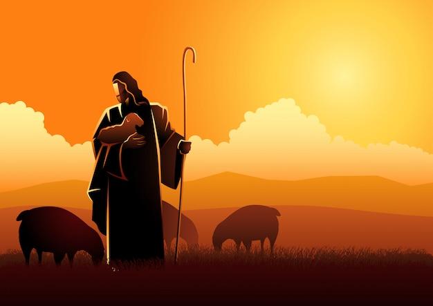 Jezus als herder