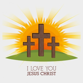 Jezus christus ontwerp