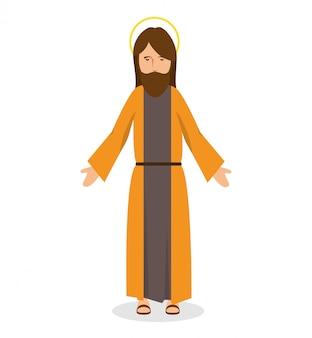 Jezus christus religieus karakter