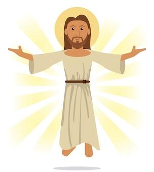 Jezus christus religieus symbool