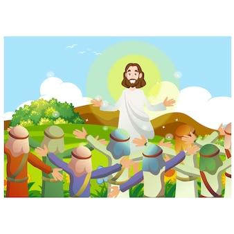Jezus onderwijst