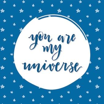 Jij bent mijn universum