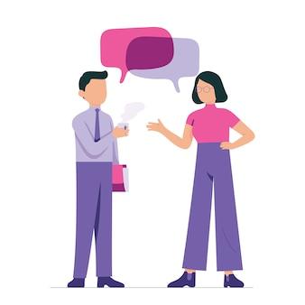 Jonge ondernemers bespreken op kantoor