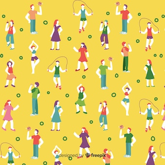 Jongeren patroon