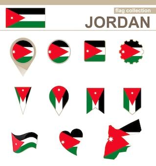 Jordan flag collection, 12 versies