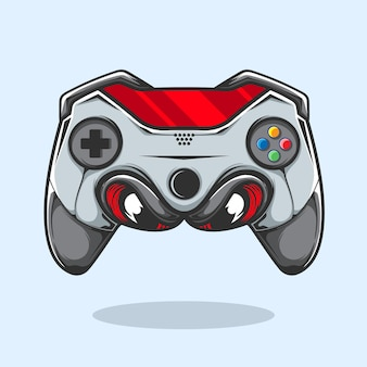 Joystick videogame illustratie