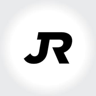 Jr eerste monogram