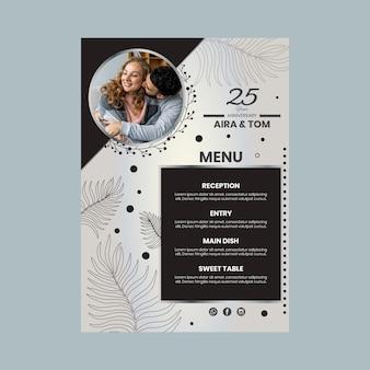 Jubileum menu