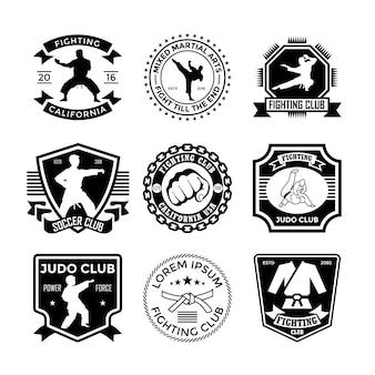 Judo badges