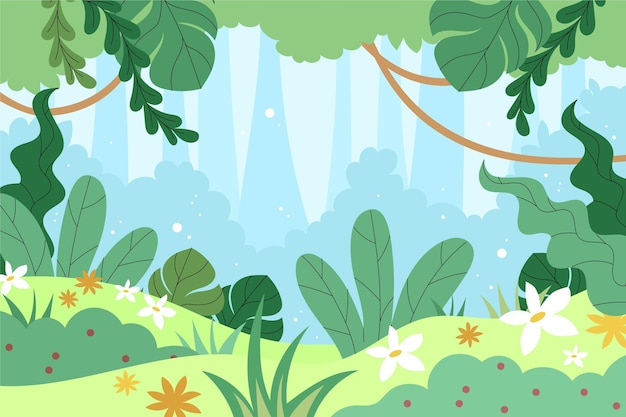 Jungle achtergrond