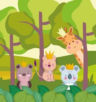 Jungle dieren dieren in het wild