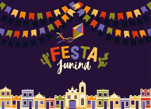 Juni-feest van brazilië