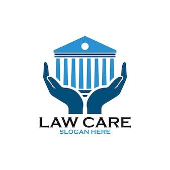 Juridisch kantoor voor advocatenkantoor logo